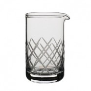 Diamond Cut Mixing Beaker